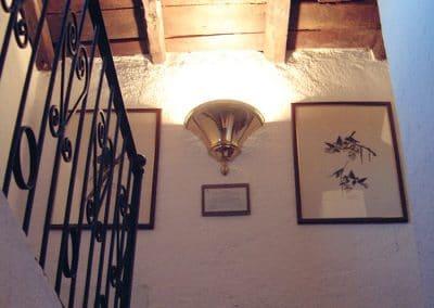 Tenuta La Marchesa - Le camere dell'agriturismo: soffitti a cassettoni