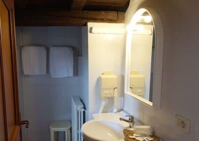 Tenuta La Marchesa - Le camere dell'agriturismo: il bagno