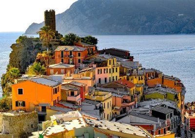 Tenuta La Marchesa - I dintorni: vista delle Cinque Terre