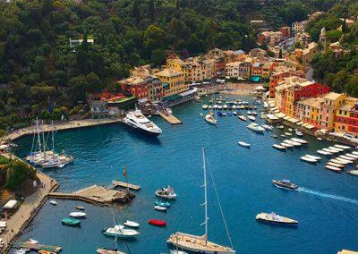 Tenuta La Marchesa - I dintorni: vista di Portofino