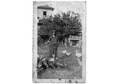 Tenuta La Marchesa - La Saula: foto d'epoca con la nonna