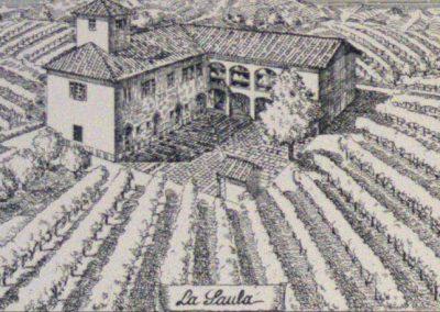 Tenuta La Marchesa - Stampa d'epoca della Saula