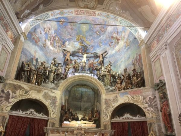 Calvario Maddalena - Oratorio della Maddalena a Novi Ligure