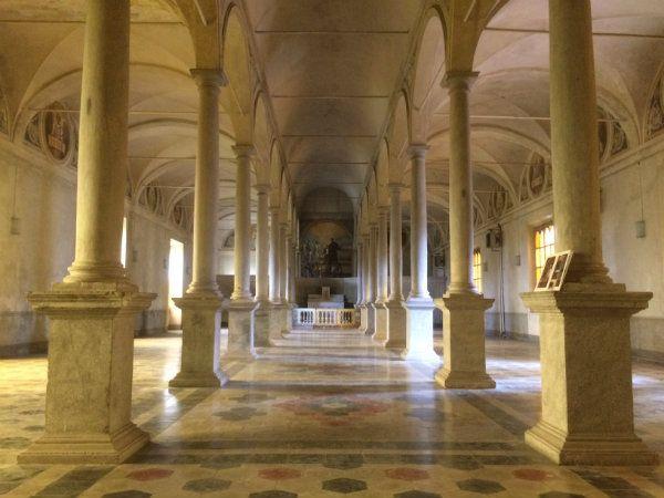 Il monastero di Santa Croce
