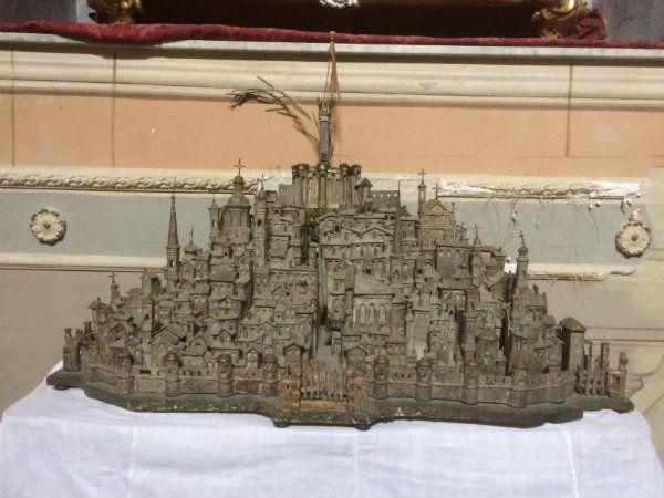 Oratorio della Maddalena - Plastico ligneo di Novi Ligure
