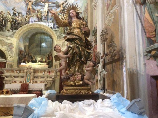 Statua della Maddalena - Oratorio della Maddalena a Novi Ligure